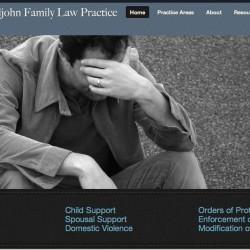 Redesigned Pauljohn Family Law Practice Website