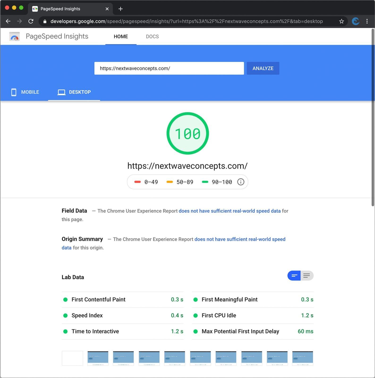 WordPress Page Speed Optimization